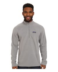 Patagonia | Gray Micro D® Pullover for Men | Lyst