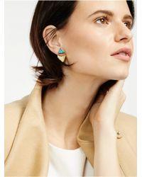 BaubleBar - Metallic Lapis Fringe Tassel Ear Jackets - Lyst