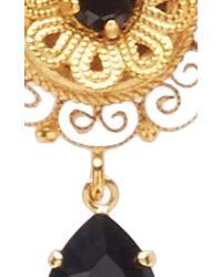 Dolce & Gabbana   Black Dark Crystal Earrings   Lyst