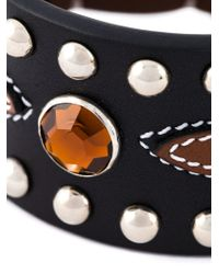 Givenchy | Brown Studded Bracelet | Lyst