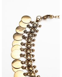 Free People | Metallic Womens Marie Metal Choker | Lyst