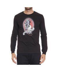 Frankie Morello | Black T-shirt for Men | Lyst