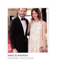 Halo Rings - Metallic Halo Ring - Lyst