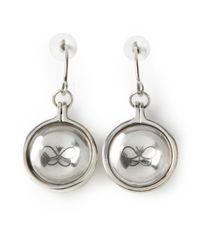 Bottega Veneta | Metallic Glass Earrings | Lyst