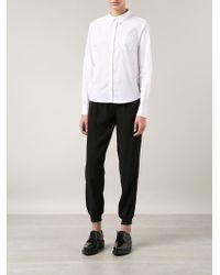 J Brand - White 'Louise' Shirt - Lyst