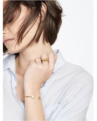 BaubleBar | Metallic Oval Signet Ring | Lyst