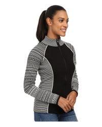 Spyder | Black Dessa Full Zip Sweater | Lyst