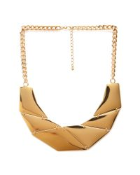 Forever 21 | Metallic Geo Chain Necklace | Lyst