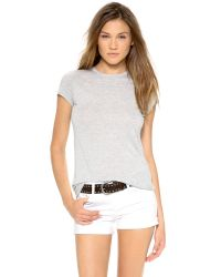 Vince | Gray Little Boy Tee | Lyst