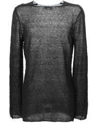 Damir Doma - Black 'kasti' Sweater - Lyst
