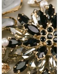 Ermanno Scervino - Metallic Jewel Embellished Necklace - Lyst