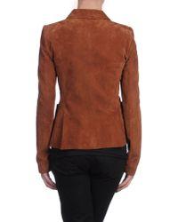 Balenciaga - Brown Blazer - Lyst