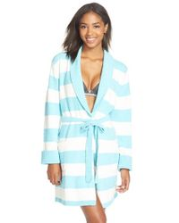 Betsey Johnson | Blue Heart Back Sweater Robe | Lyst