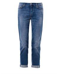 M.i.h Jeans - Blue Phoebe Slim Boyfriend Jeans - Lyst