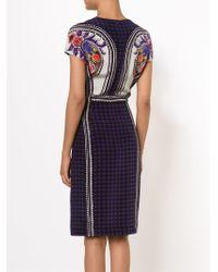 Mary Katrantzou - Black Mixed Print Dress - Lyst