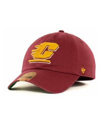 47 Brand - Red Central Michigan Chippewas Ncaa '47 Franchise Cap for Men - Lyst