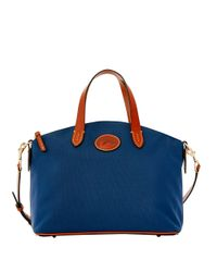Dooney & Bourke | Blue Small Gabriella Satchel Bag | Lyst