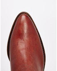 SELECTED - Brown Femme Bobi Cognac Leather Ankle Boots - Cognac - Lyst