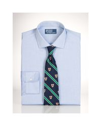 Polo Ralph Lauren - Blue Slim-fit Estate Dress Shirt for Men - Lyst