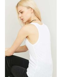Urban Outfitters - Black Suede Tie Choker Necklace - Lyst