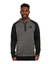 Adidas | Gray Team Issue Fleece Pullover Hoodie for Men | Lyst