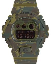 G-Shock | Natural Gd-x6900mc-1er M-spec Shock-resistant Camouflage Print Digital Watch, Men's, Khaki for Men | Lyst