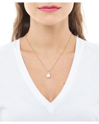 Ruth Tomlinson - Metallic Gold Encrusted Pearl Pendant Necklace - Lyst