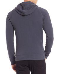 Victorinox - Blue Hiker Hooded Sweatshirt for Men - Lyst