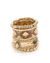 Samantha Wills | Metallic The Bracelet Set - Shiny Gold | Lyst