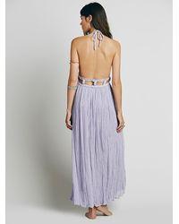 Free People | Gray Jen's Pirate Booty Womens La Cruz Maxi Dress | Lyst