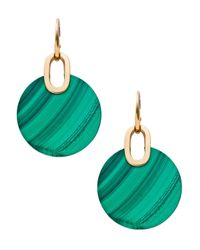 Michael Kors | Green City Disc Earrings | Lyst