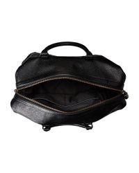 COACH   Black Pebbled Leather Explorer Duffel for Men   Lyst
