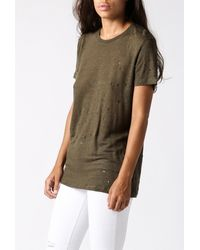 IRO | Natural Clay S/s Tee | Lyst