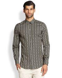 Dolce & Gabbana - Multicolor Owl-Print Sportshirt for Men - Lyst