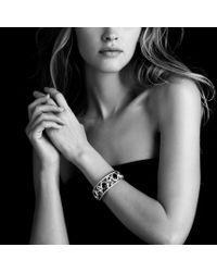 David Yurman - Metallic Mosaic Cuff with Rhodolite Garnet and Diamonds in Gold - Lyst