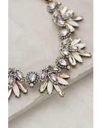 BaubleBar | Purple Lavande Bib Necklace | Lyst