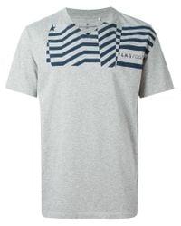 Golden Goose Deluxe Brand   Gray Flag-print Cotton T-Shirt for Men   Lyst