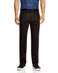 BOSS - Black Boss Maine Techo Regular Fit Pants for Men - Lyst
