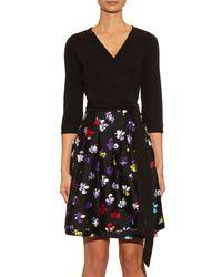 Diane von Furstenberg - Multicolor Jewel Jersey Dress - Lyst
