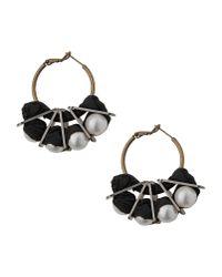 Lanvin - White Earrings - Lyst