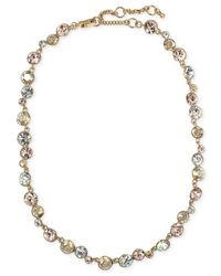 Givenchy - Metallic Gold-Tone Silk Collar Necklace - Lyst
