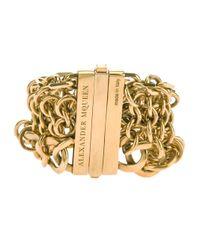 Alexander McQueen | Metallic Chain Bracelet | Lyst