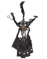 KD2024 | Black Jeweled Mono Glove | Lyst