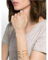 BaubleBar - Metallic Pearl Barbell Bracelet Set - Lyst
