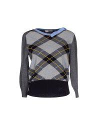 Ermanno Scervino - Gray Sweater - Lyst
