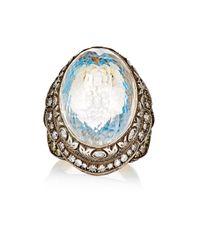Sevan Biçakci | Metallic Women's Swan Intaglio Ring | Lyst