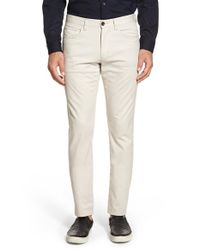 Vince | Natural 'soho' Slim Ankle Pants for Men | Lyst