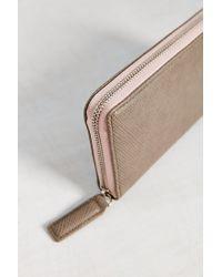 BDG | Pink Zip Wallet | Lyst