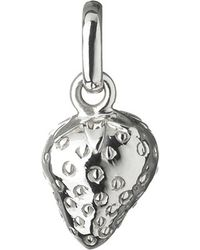 Links of London | Metallic Wimbledon Strawberry Sterling Silver Charm | Lyst