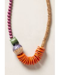 Anthropologie | Multicolor Zuma Necklace | Lyst